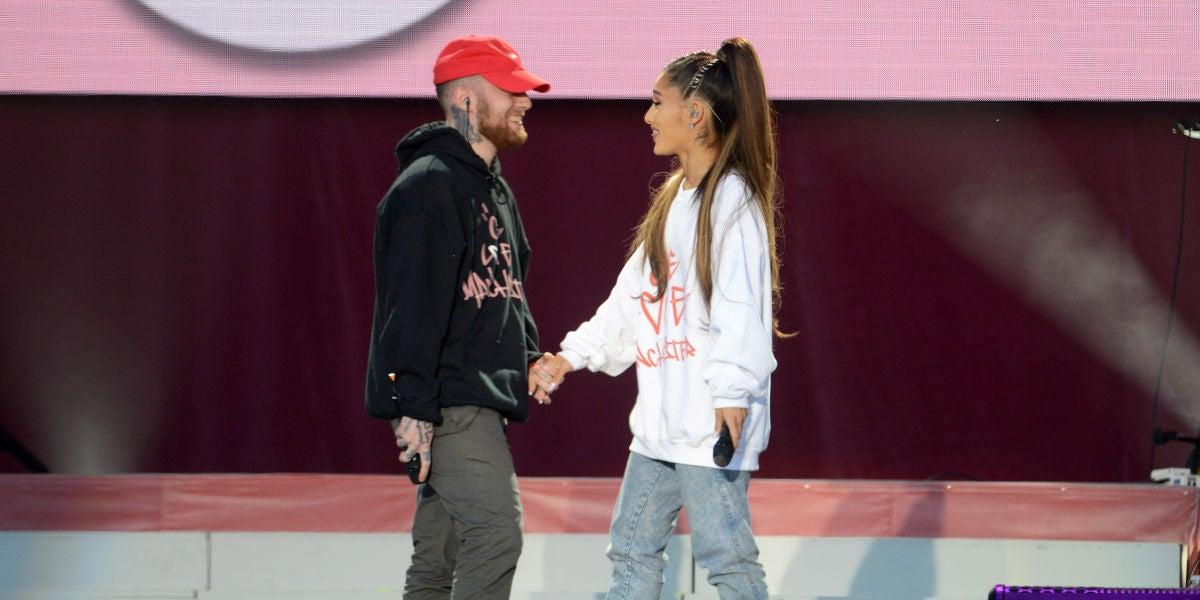 Mac Miller y Ariana Grande en el concierto benéfico 'One Love Manchester'