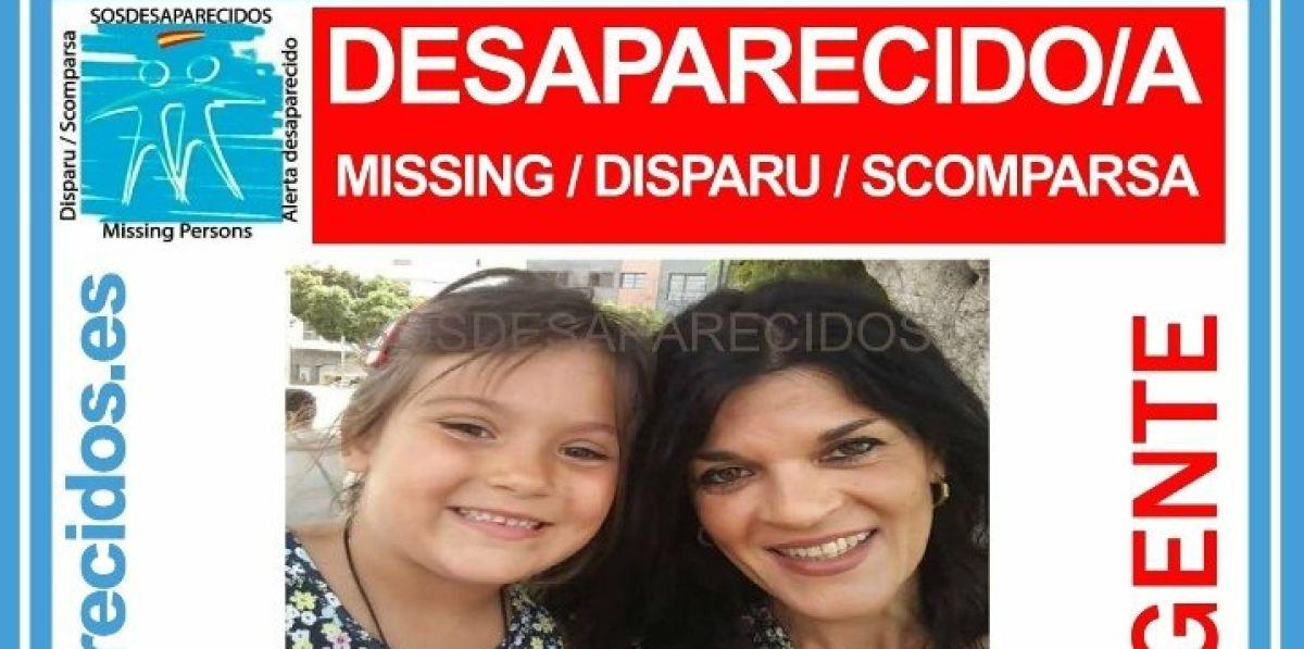 Madre e hija desaparecidas en Madrid