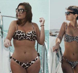 Marina Lloca imita a Laura Escanes