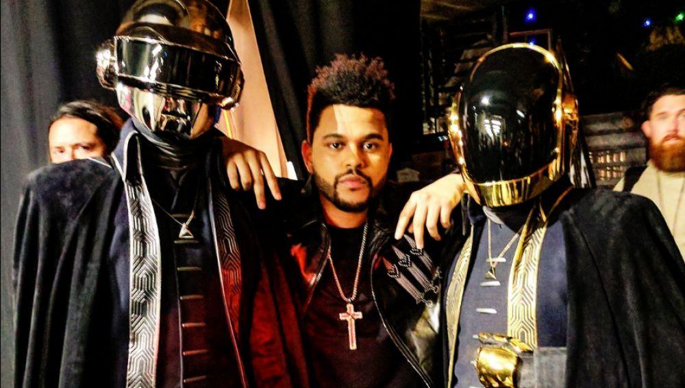 Daft Punk y The Weeknd