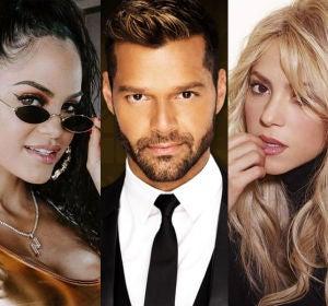 Maluma, Natti Natasha, Ricky Martin, Shakira y Luis Fonsi protagonizan los videoclips en español más vistos en Youtube
