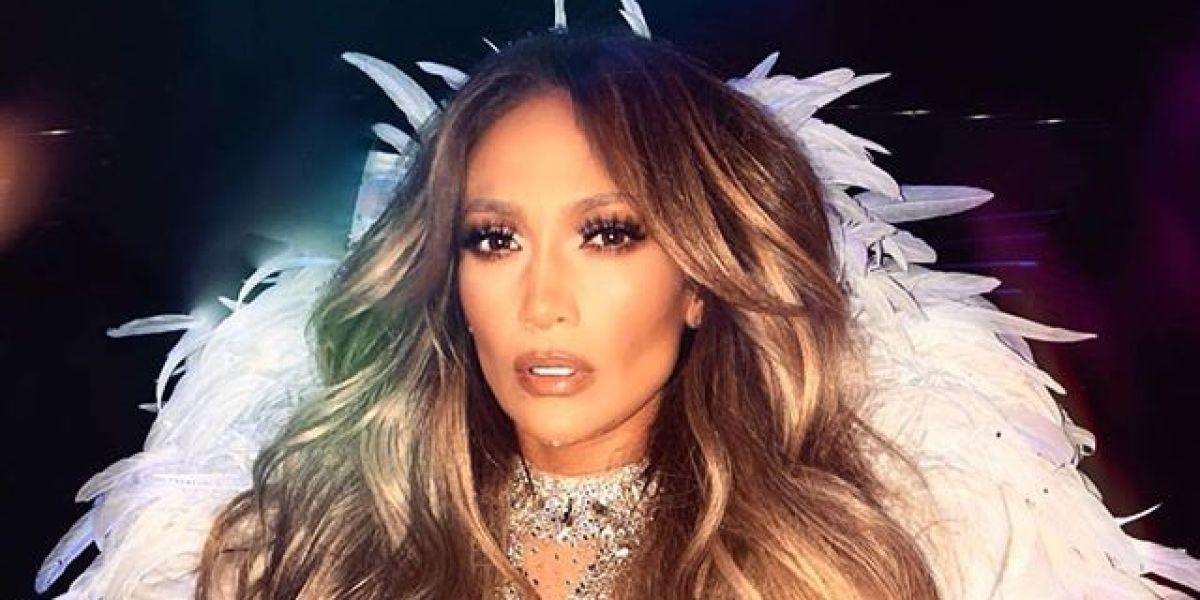 Jennifer Lopez durante su residencia en Las Vegas