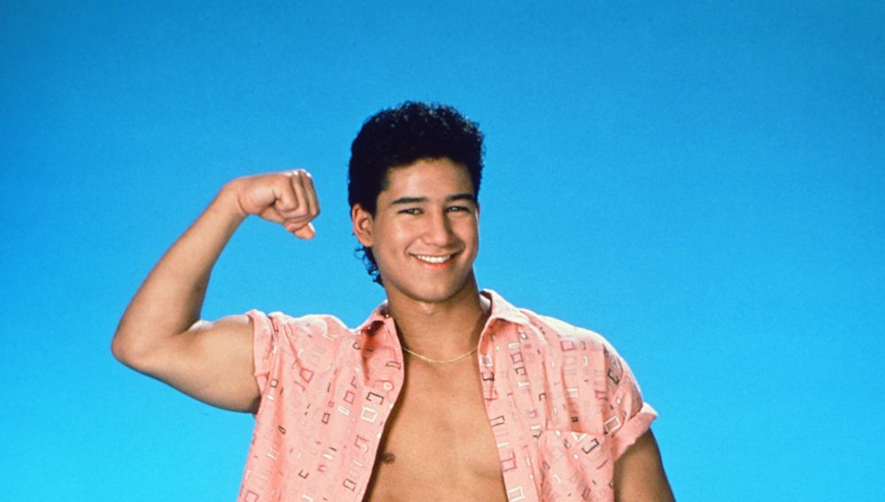 Mario Lopez en 'Salvados por la campana'