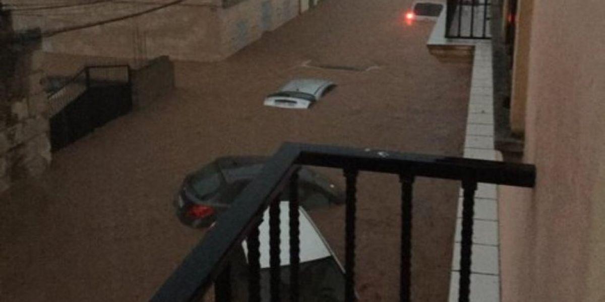 Inundación en Sant Llorenç, Mallorca