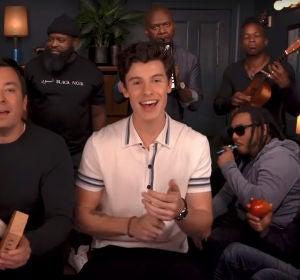 Shawn Mendes interpreta 'Treat your better' con Jimmy Fallon