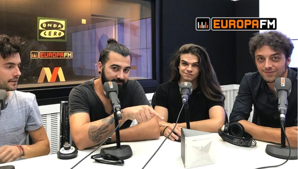 Entrevista a Shinova en Europa FM