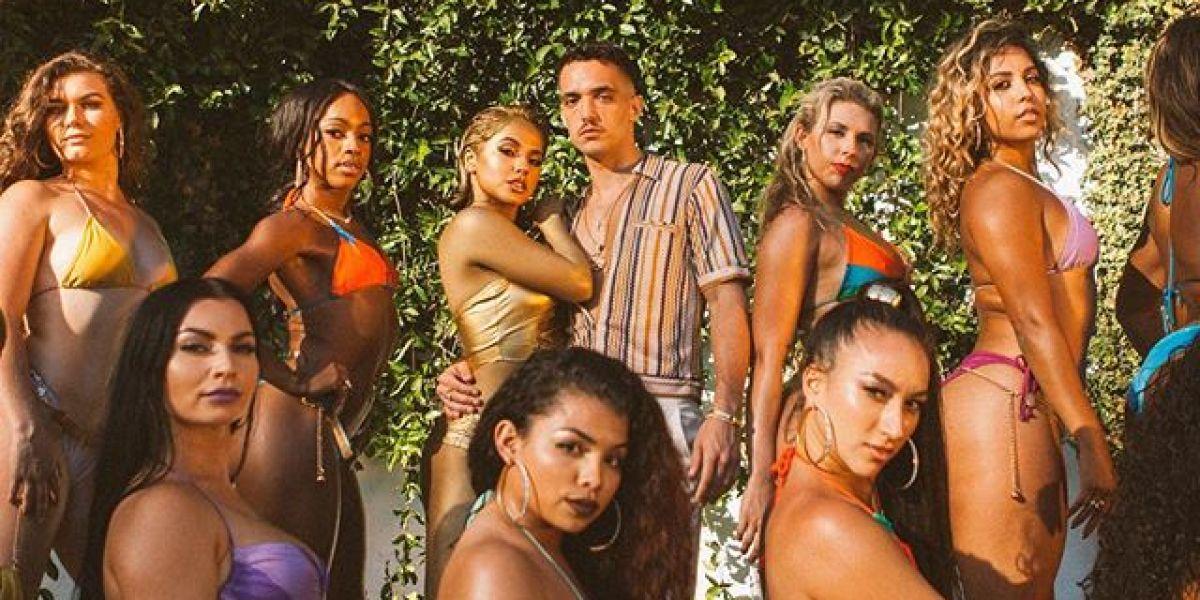 Becky G y C. Tangana lanzan la portada de 'Booty', su nueva colaboración