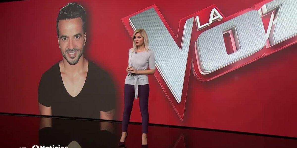 Luis Fonsi, coach de 'La Voz' en Antena 3