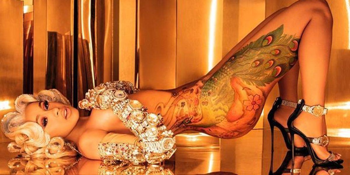 Cardi B se desnuda para presentar su nuevo single 'Money'