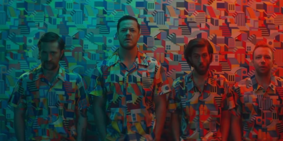 Imagine Dragons en el vídeo de 'Zero'