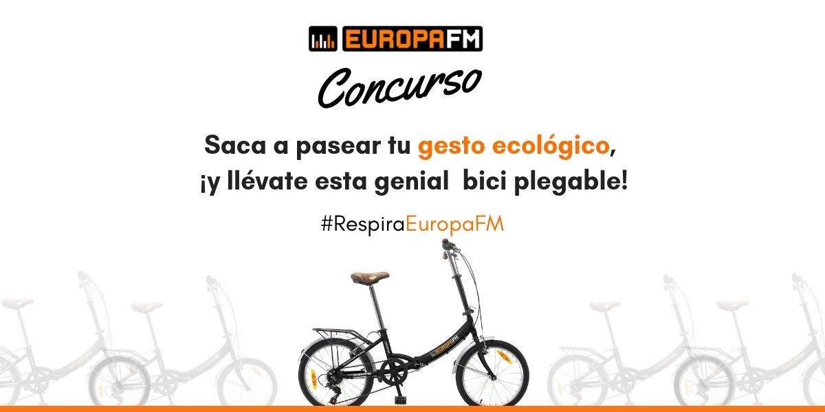Respira Europa FM y consigue una bici plegable
