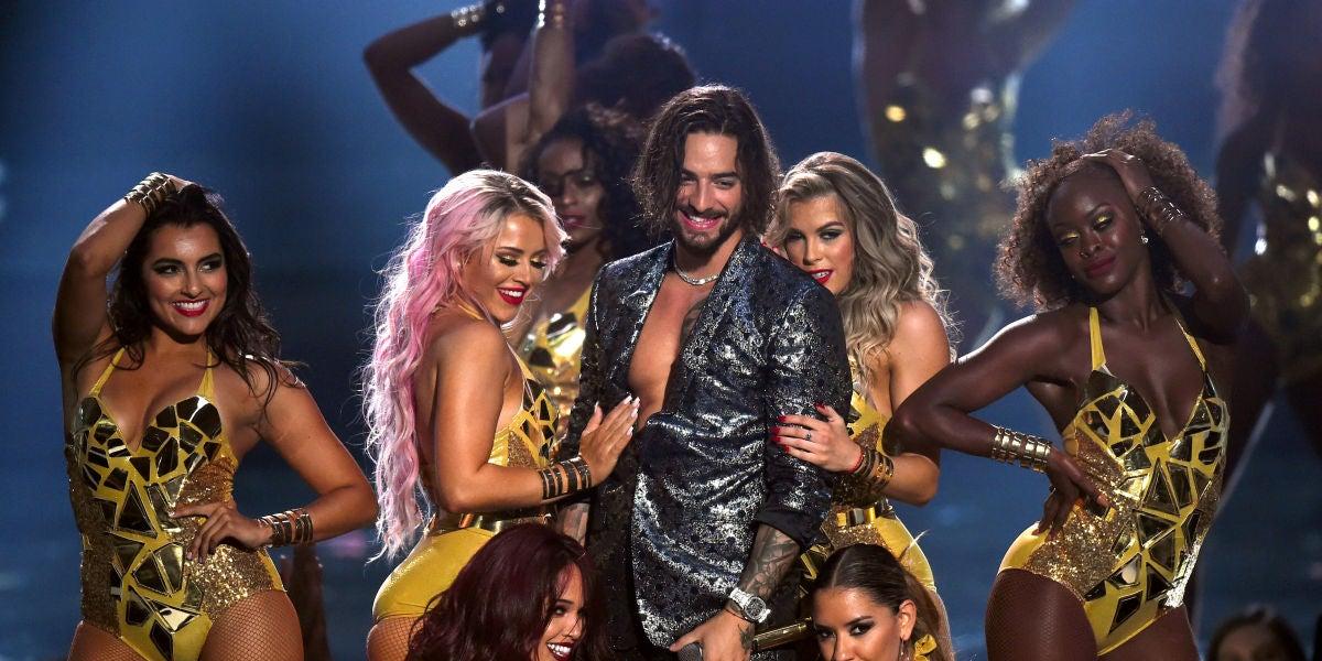 Maluma en MTV Video Music Awards 2018