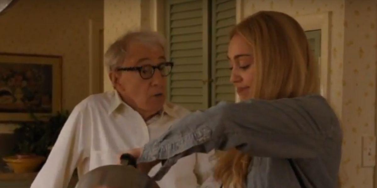Miley Cyrus en la serie de Woody Allen
