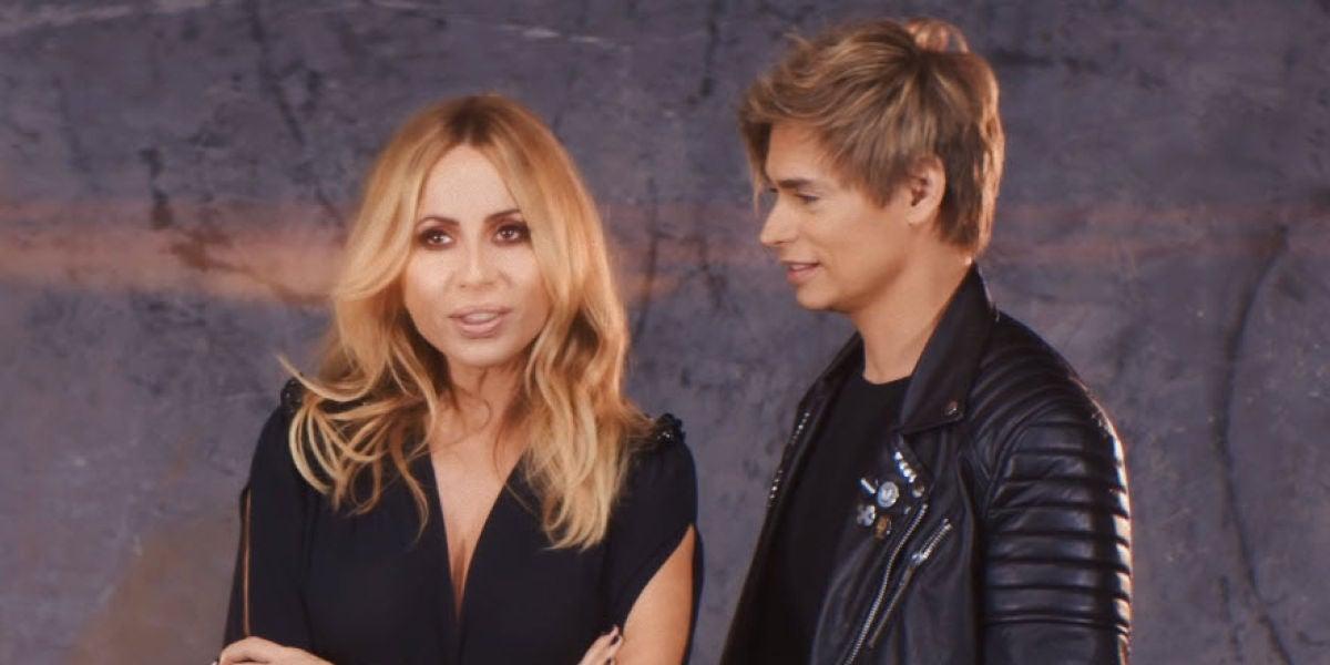 Marta Sánchez y Carlos Baute en 'Te sigo pensando'