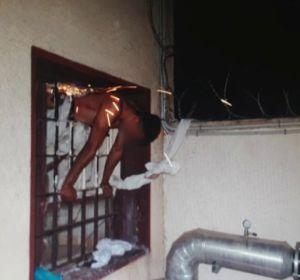 Intento de fuga en la cárcel de Almería