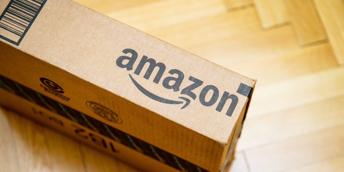 Un paquete de Amazon