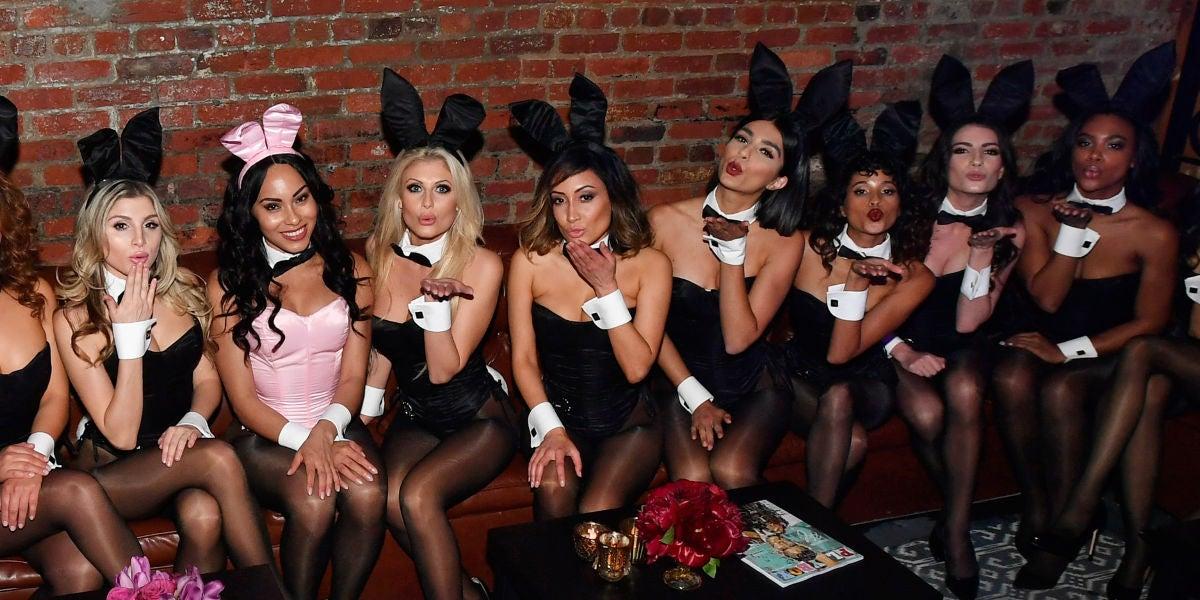 Una fiesta Playboy