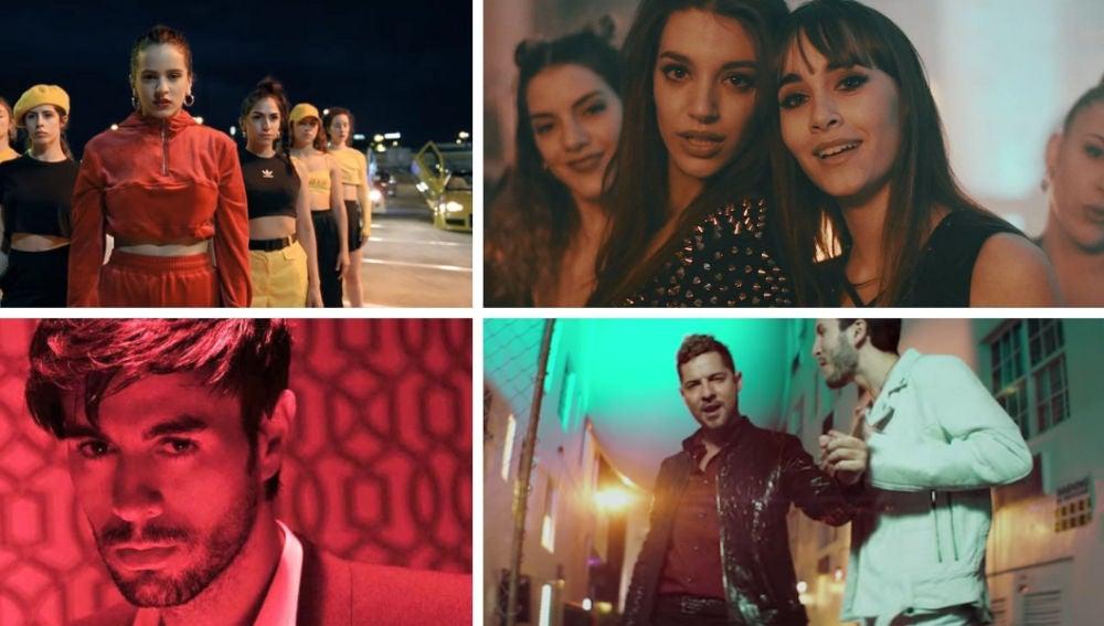 Los 10 vídeos musicales más vistos en el mundo durante 2018