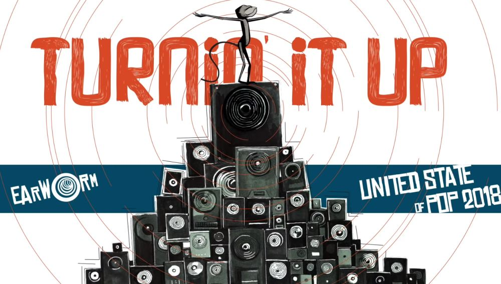 DJ Earworm presenta 'United State of Pop 2018 (Turnin' It Up)'