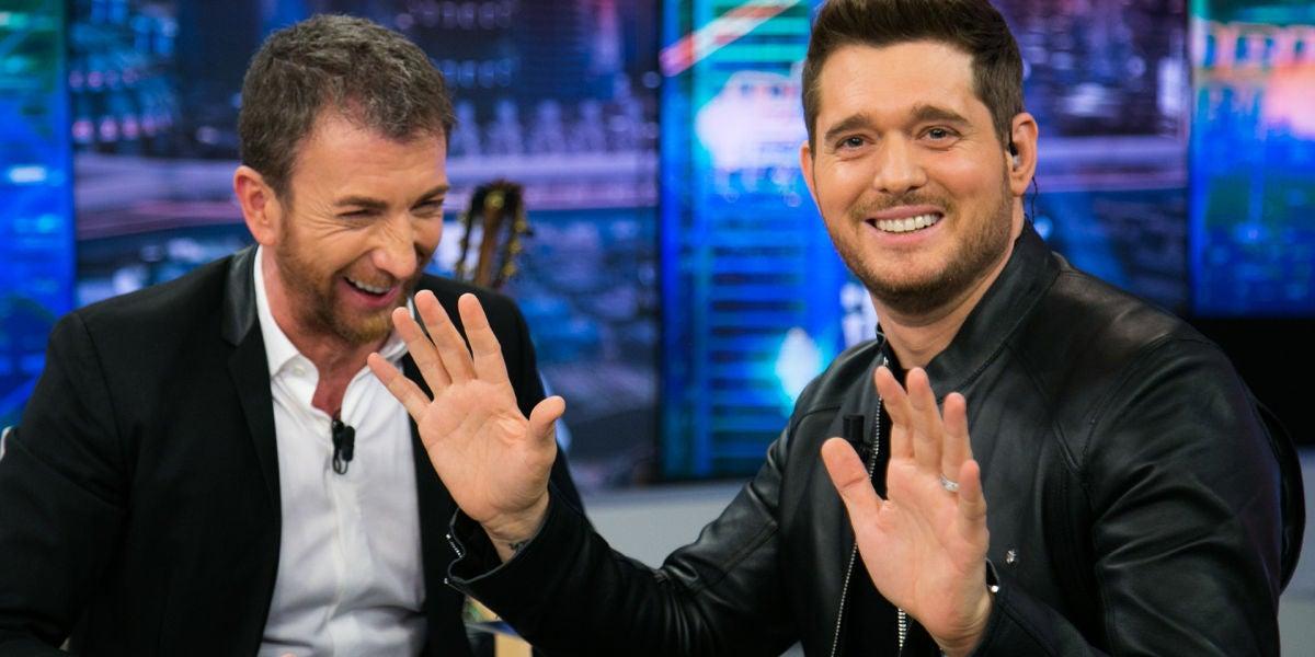 """Michael Bublé, sobre su mujer, en 'El Hormiguero 3.0': """"Estaba enamorado desde el primer momento y lo sigo estando"""""""