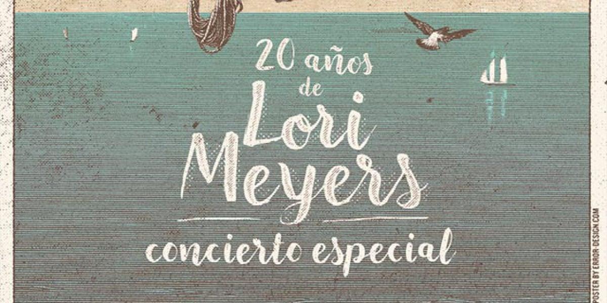Concierto 20 años Lori Meyers