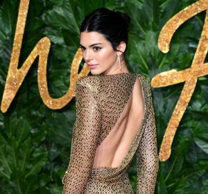 Kendall Jenner en los British Fashion Awards 2018