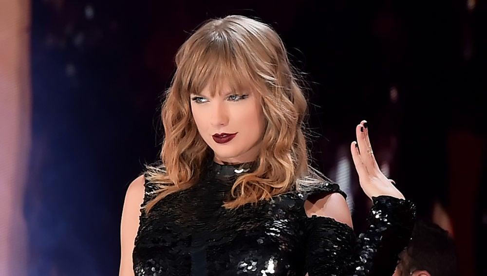 Taylor Swift durante un concierto de su 'Reputation Tour'
