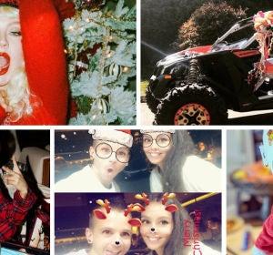 Los famosos celebra la Navidad 2018