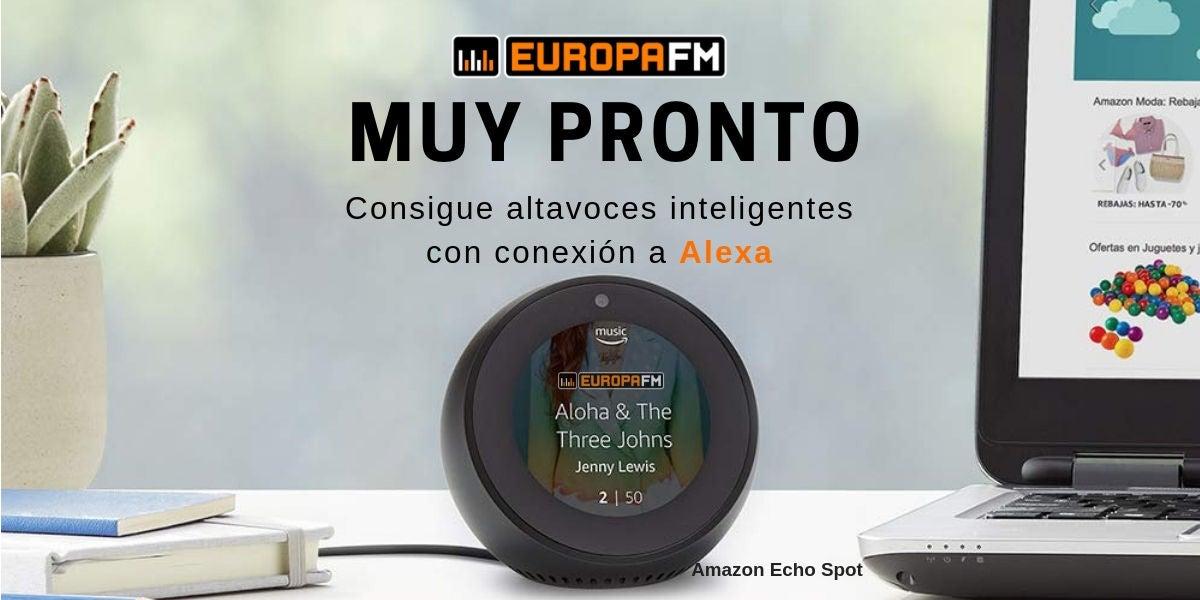 Concurso Echo Spot en Europa FM