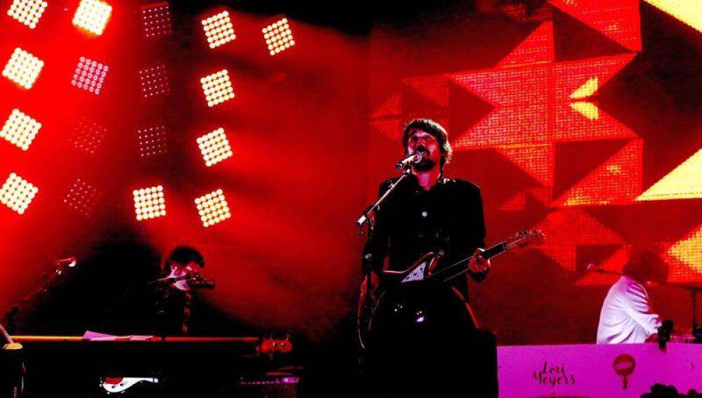 Lori Meyers en su concierto en el WiZink Center de Madrid
