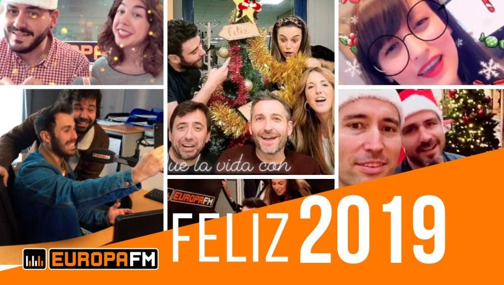 Feliz 2019 de parte de todo el equipo de Europa FM