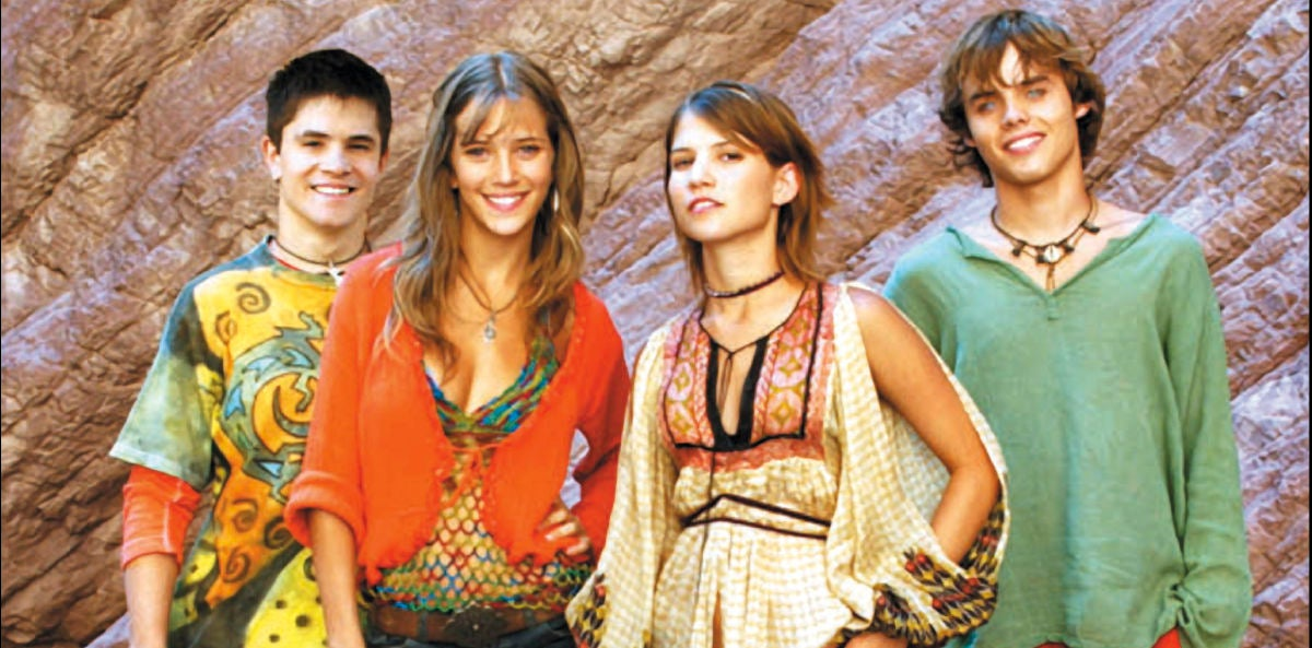Los protagonistas de Rebelde Way