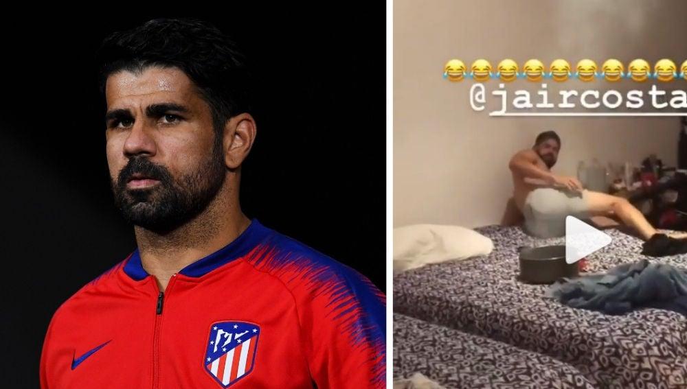 La broma de Diego Costa a su hermano Jair