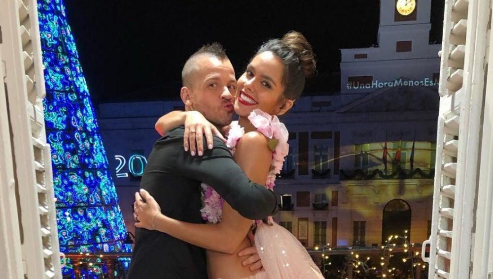 Dabiz Muñoz y Cristina Pedroche tras las Campanadas 2019