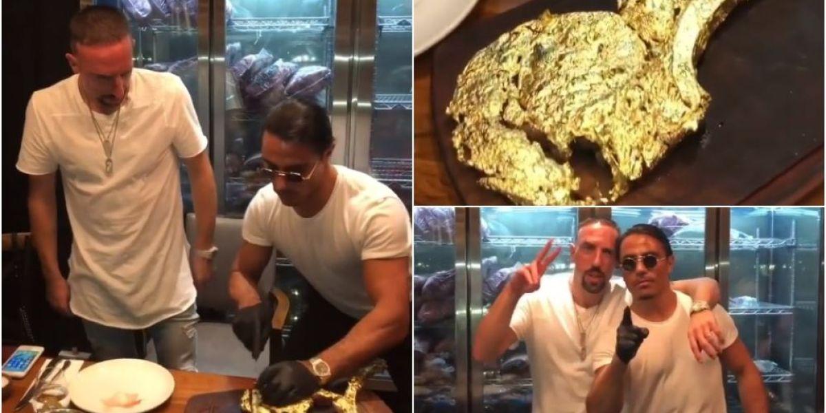 """LaSexta Deportes (05-01-19) Ribéry explota tras las críticas por su filete bañado en oro: """"Foll... a vuestras madres, vuestras abuelas y vuestro árbol generacional"""""""