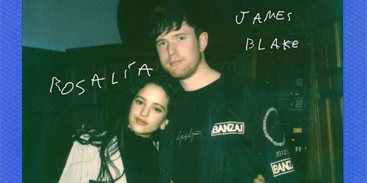 Rosalía y James Blake