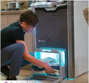 El robot que te plancha y dobla la ropa