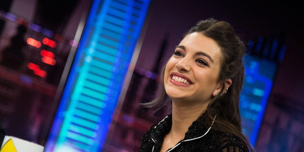 """Ana Guerra deslumbra con su look en su entrada al programa: """"Vengo a 'El Hormiguero 3.0' en pijama"""""""