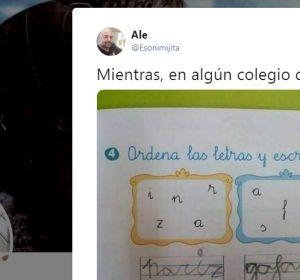 El tuit de la genial respuesta de un niño andaluz en un ejercicio de clase