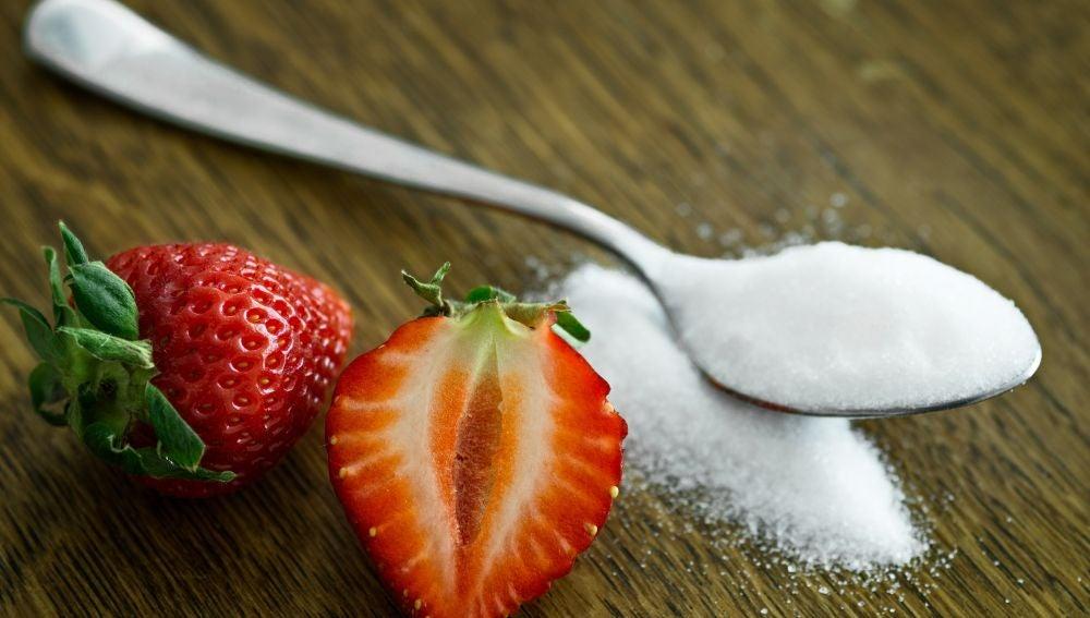 Fresas con azúcar