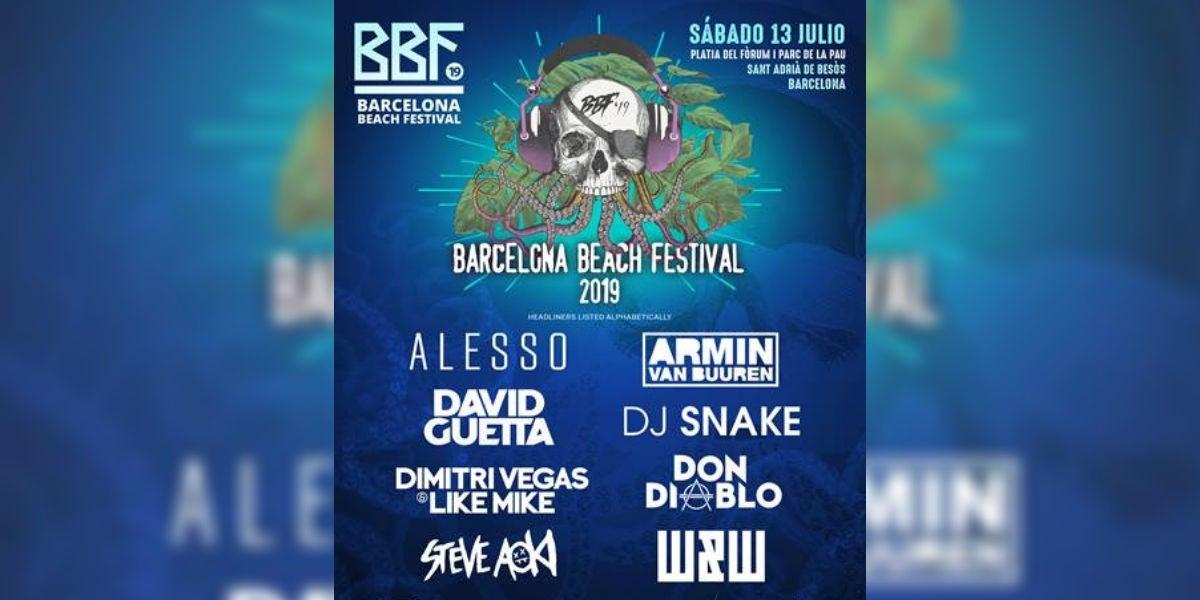 Barcelona Beach Festival 2019