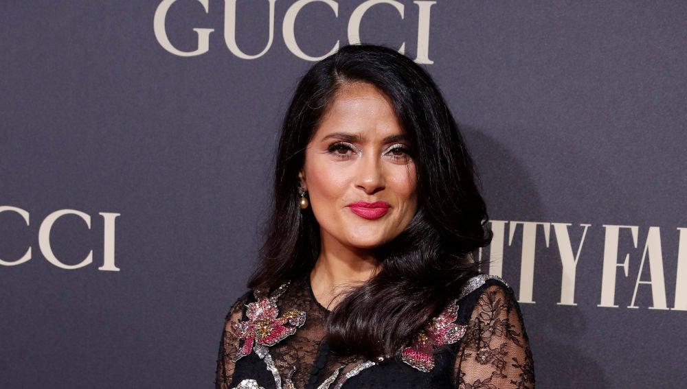 Salma Hayek en los Premios Vanity Fair 2018
