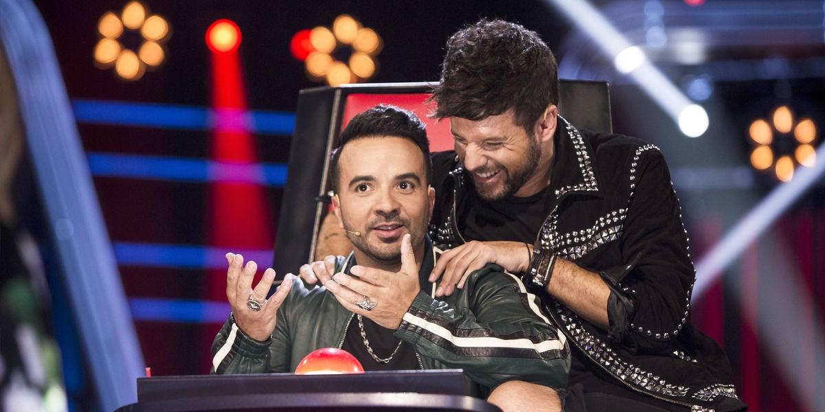 Declaraciones de amor y risas, los momentazos que protagonizan los coaches durante las 'Audiciones a ciegas' de 'La Voz'