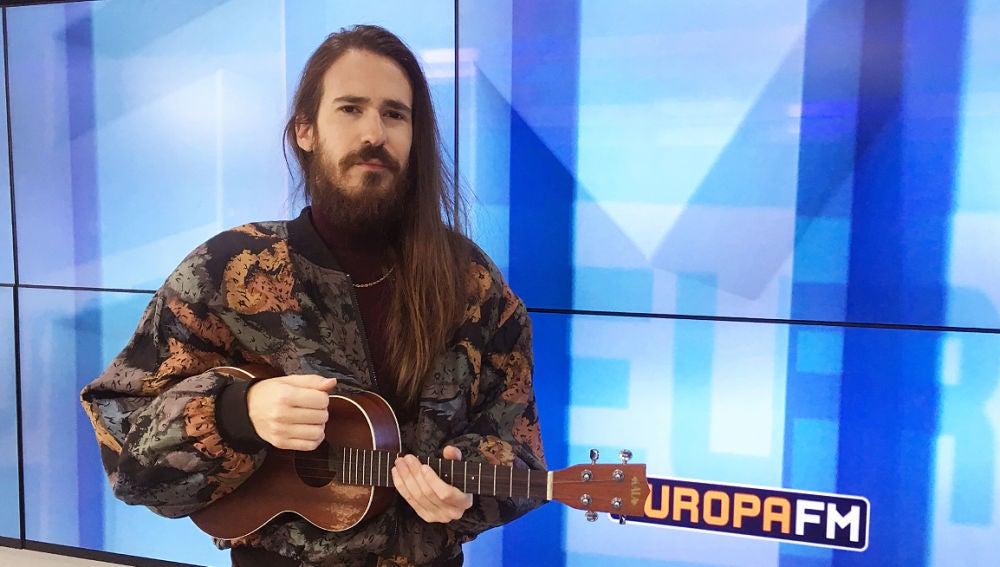 Carlos Sadness en los estudios de Europa FM