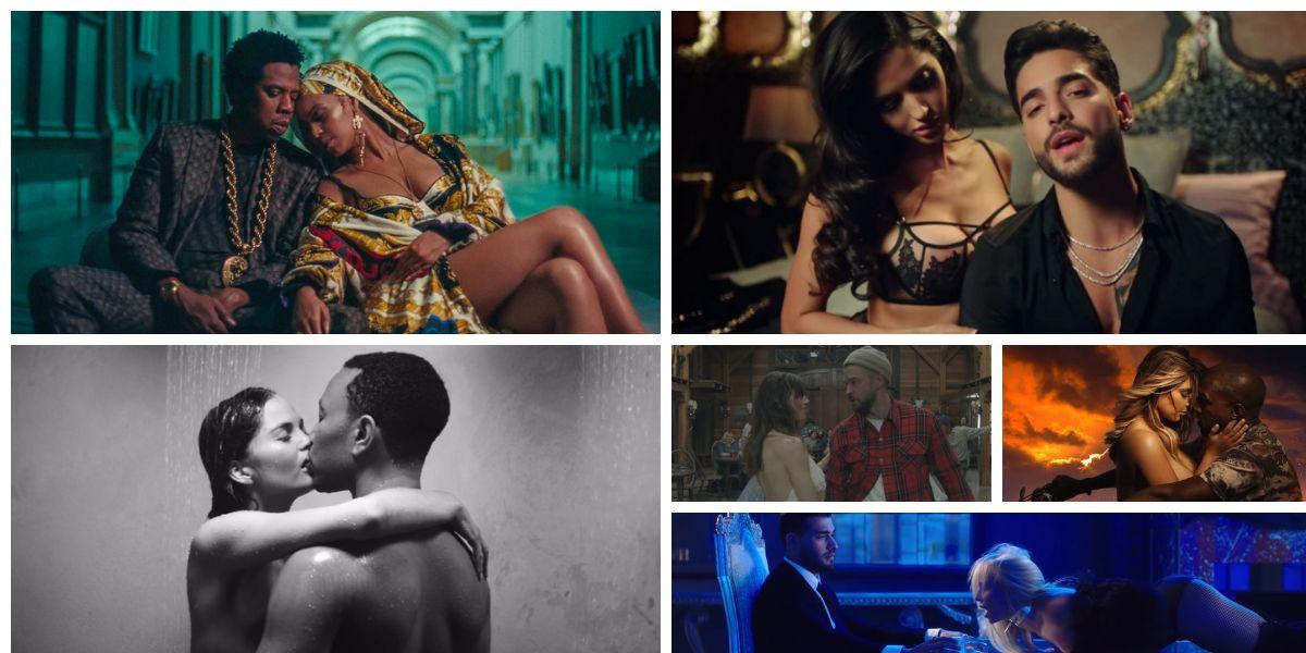 Videoclips protagonizados por cantantes con sus parejas