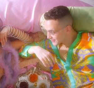 C. Tangana en el videoclip de 'París'