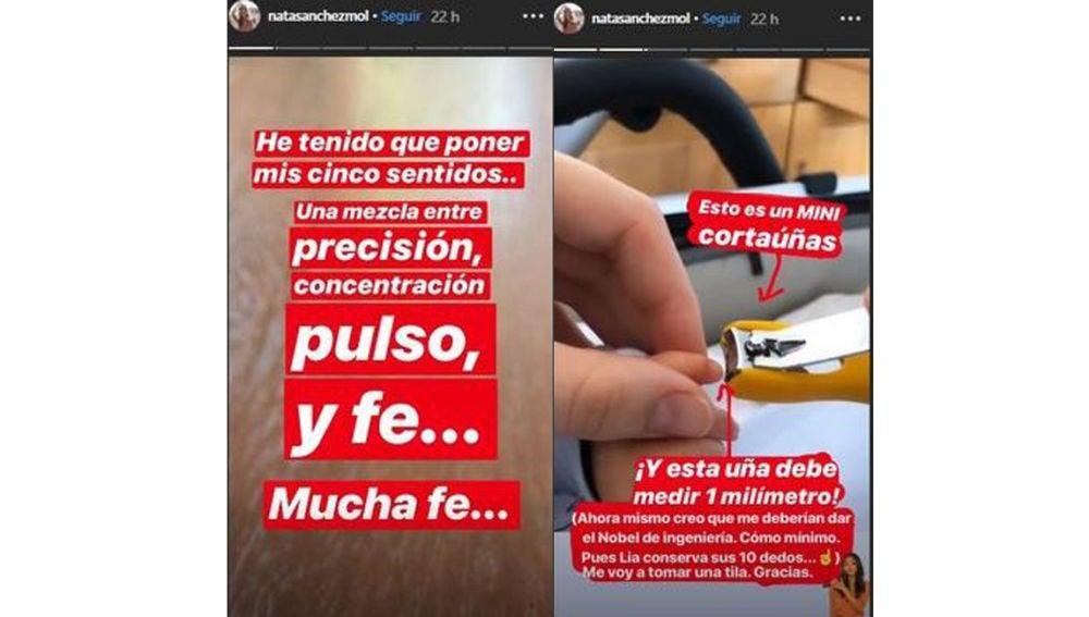 Instagram Natalia Sánchez