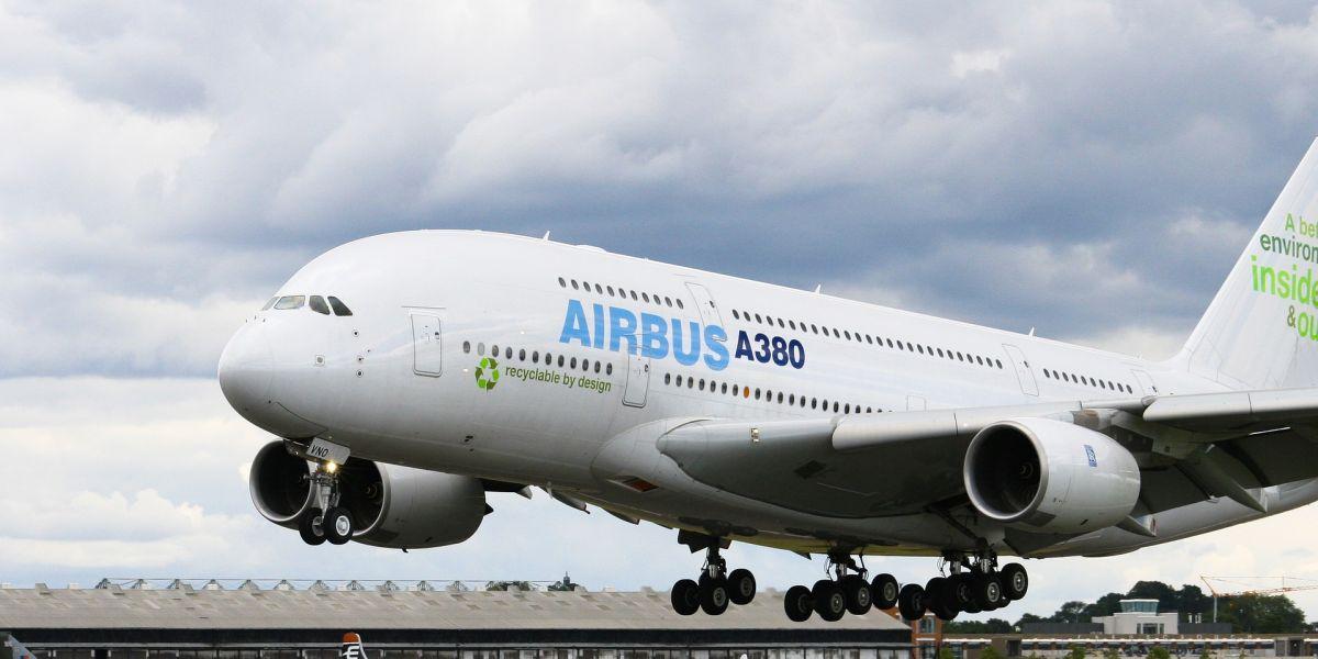 Airbus A380 (Archivo)