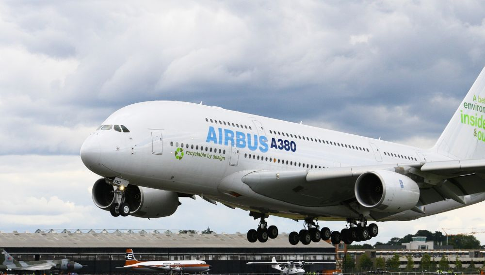 Airbus A380 (Archivo)