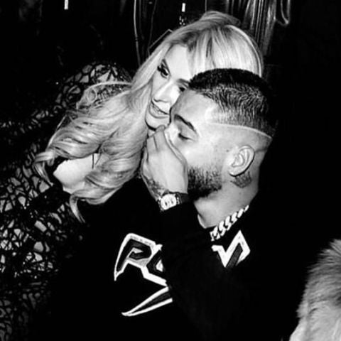Paris Hilton y Maluma se divierten en una fiesta